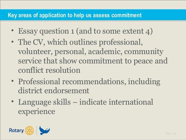 Essay on community service