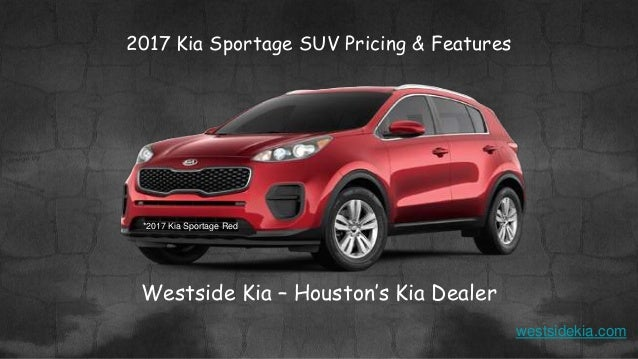 2017 kia sportage suv pricing features. Black Bedroom Furniture Sets. Home Design Ideas