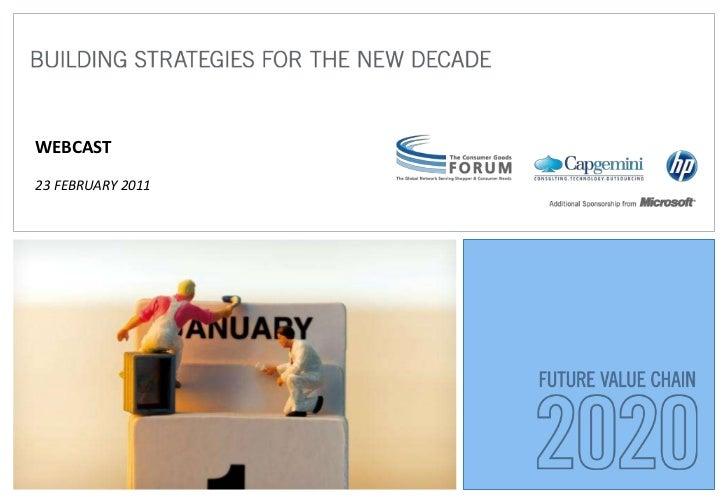 WEBCAST23 FEBRUARY 2011