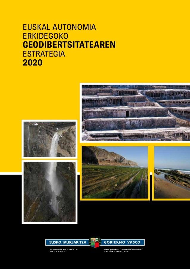 Euskal Autonomia Erkidegoko Geodibertsitatearen Estrategia 2020