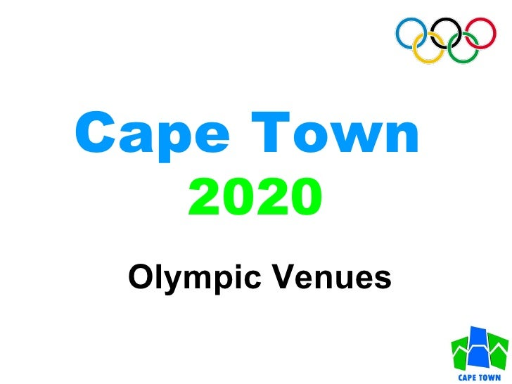 Cape Town   2020 Olympic Venues