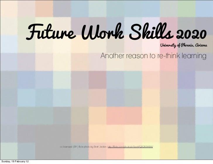 2020 Workforce Skills