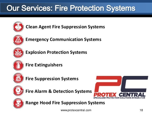 Protex Fire Extinguisher Systems Fire Extinguishers