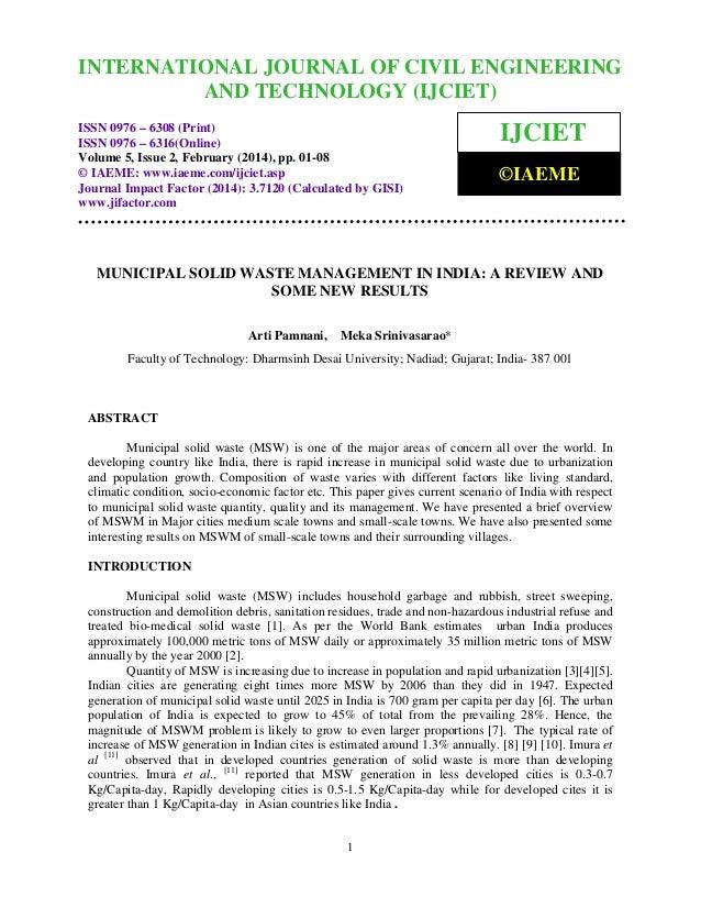 International Journal of Civil and Technology (IJCIET), ISSN 0976 – INTERNATIONALEngineering 2, February (2014), pp. 01-08...