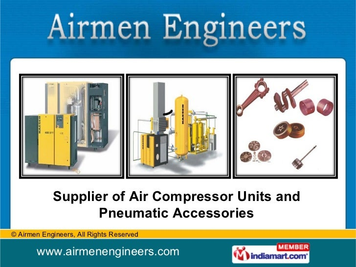 Supplier of Air Compressor Units and Pneumatic Accessories