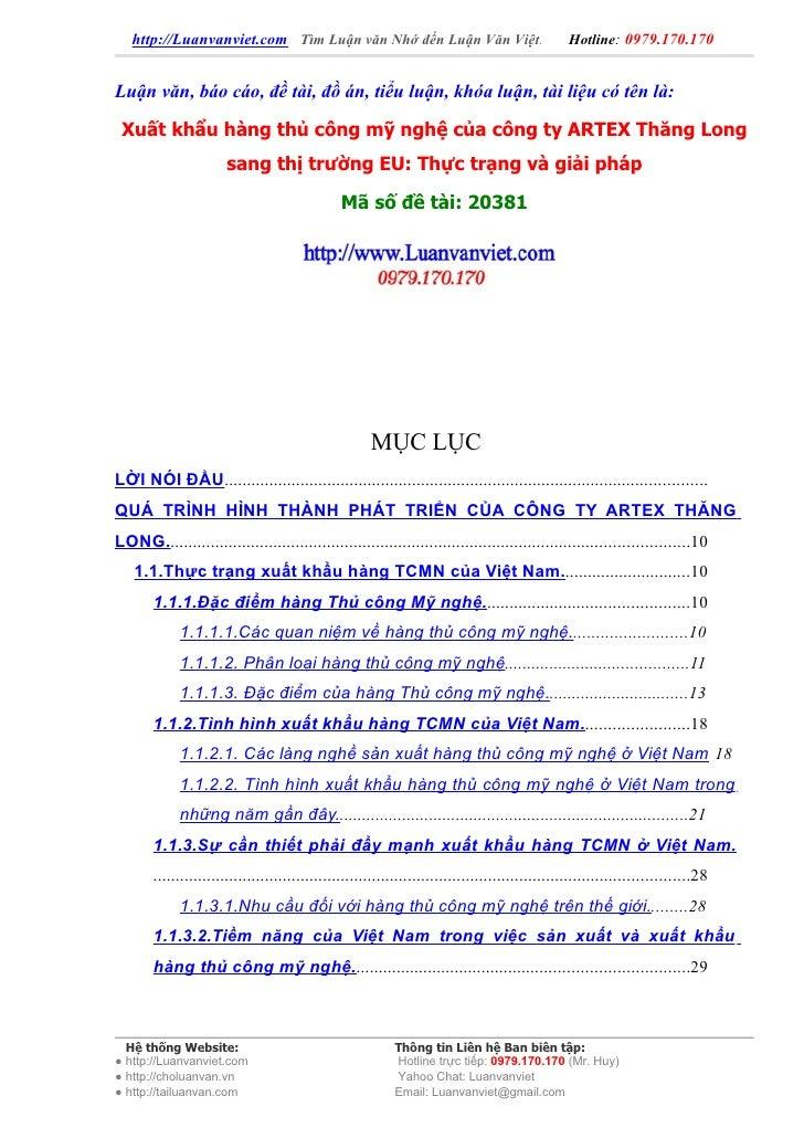 http://Luanvanviet.com Tìm Luận văn Nhớ đến Luận Văn Việt.                                     Hotline: 0979.170.170   Luậ...