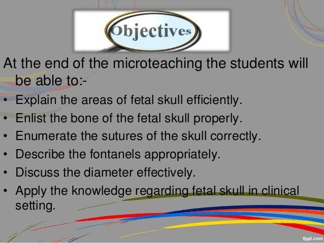5 Bones of The Fetal Skull Fetal Skull 5