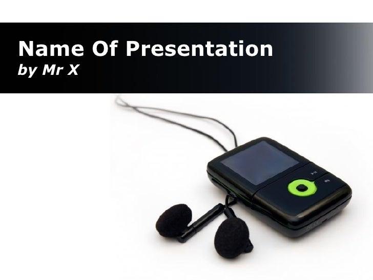 Black MP3