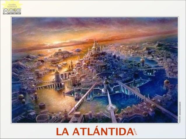 LA ATLÁNTIDA IMAGEN:DESTINOYTAROT 2013/14 CLARA ÁLVAREZ