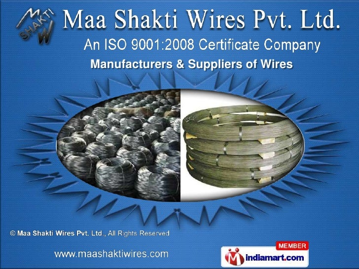 Manufacturers & Suppliers of Wires