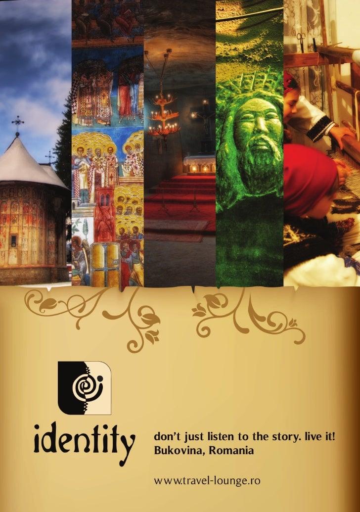 Travel Lounge Identity presentation brochure