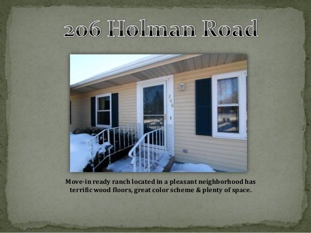 Deerfield, WI Home for Sale: 206 Holman Road