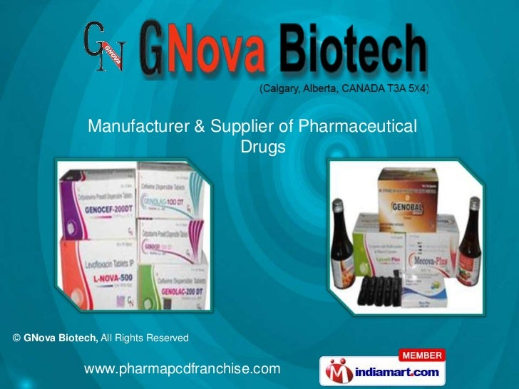 Manufacturer & Supplier of Pharmaceutical                                 Drugs© GNova Biotech, All Rights Reserved       ...