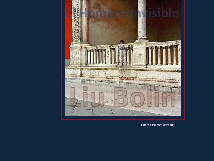 Liu Bolin, el hombre invisible (por: carlitosrangel)