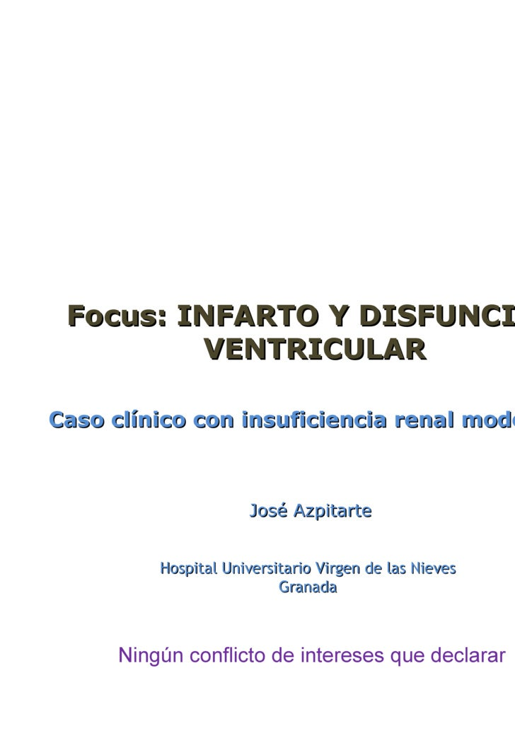 Dr. Azpitarte Almagro: Caso clínico con insuficiencia renal