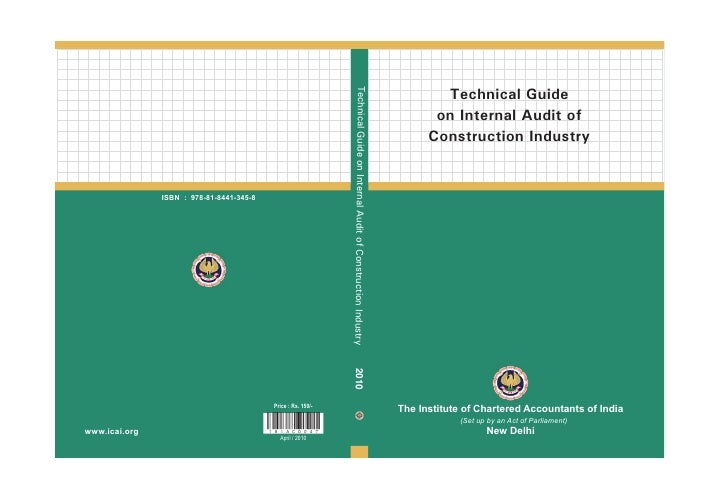 Technical Guide on Internal Audit of Construction Industry                                                                ...