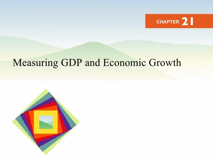 Measuring GDP and Economic Growth CHAPTER 21