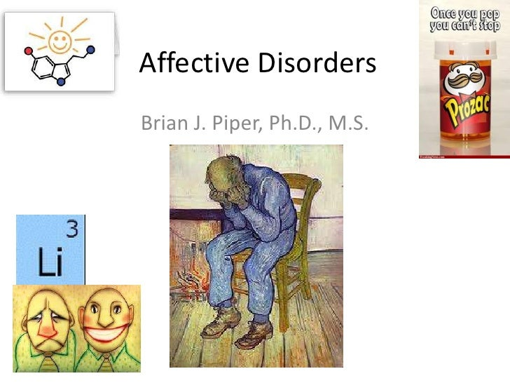 Affective DisordersBrian J. Piper, Ph.D., M.S.