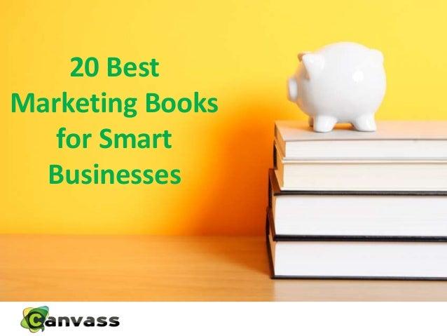 20 BestMarketing Booksfor SmartBusinesses