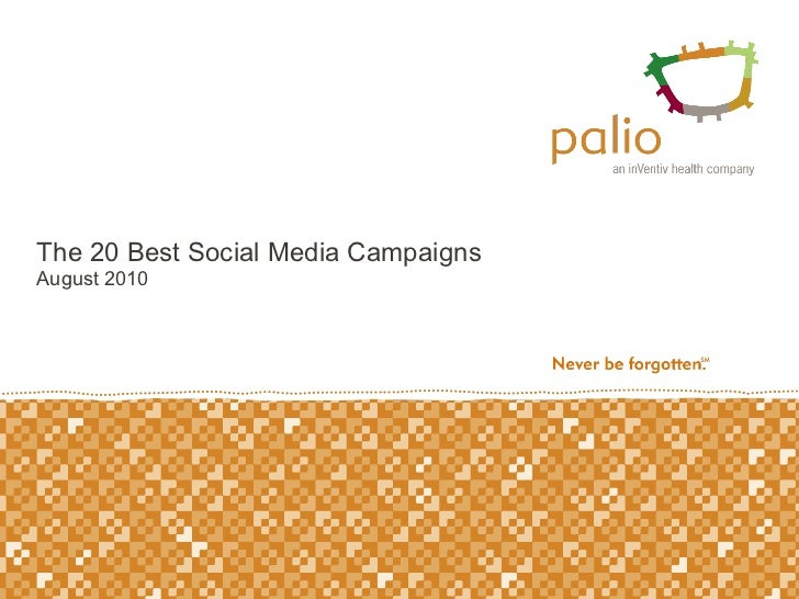 The 20 best social media campaigns