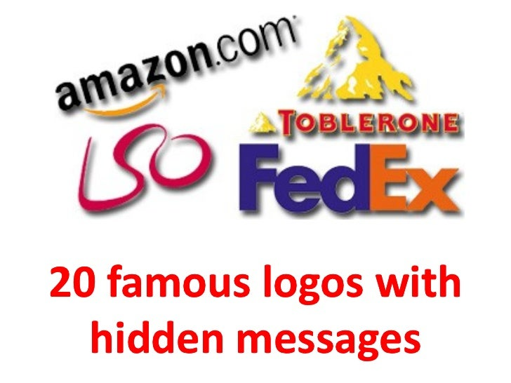 20 Famous Logos with Hidden Messages