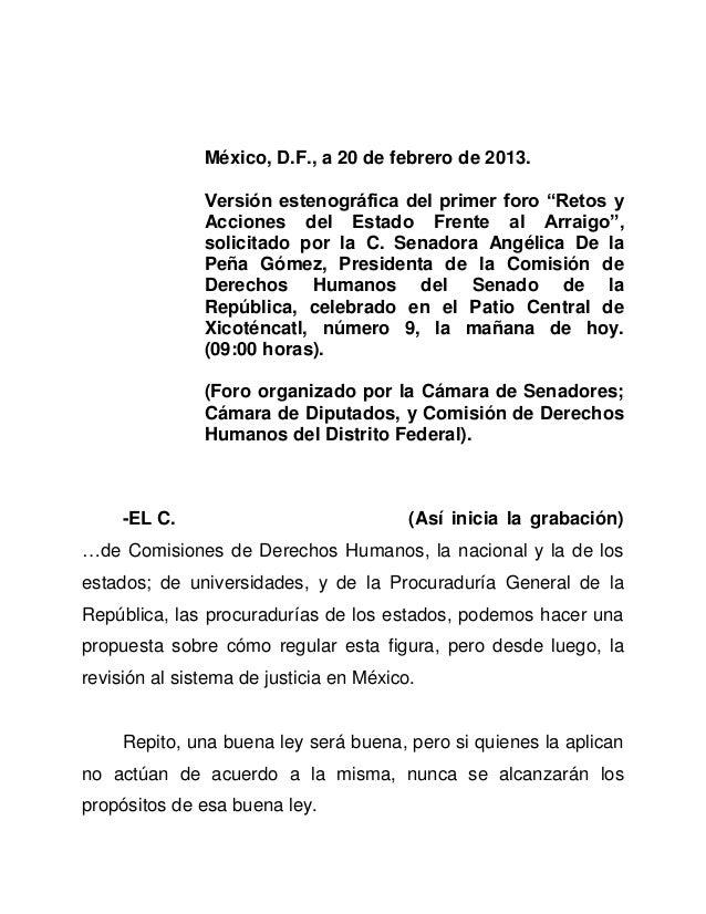 20feb13 foro derechos humanos
