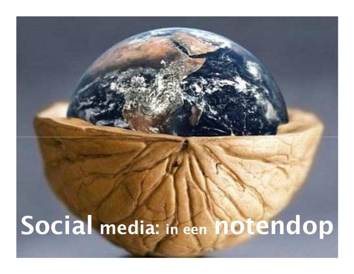Social media: in een notendop