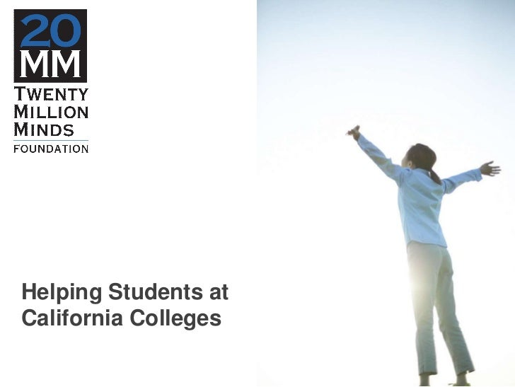 Helping Students at California Colleges <br />