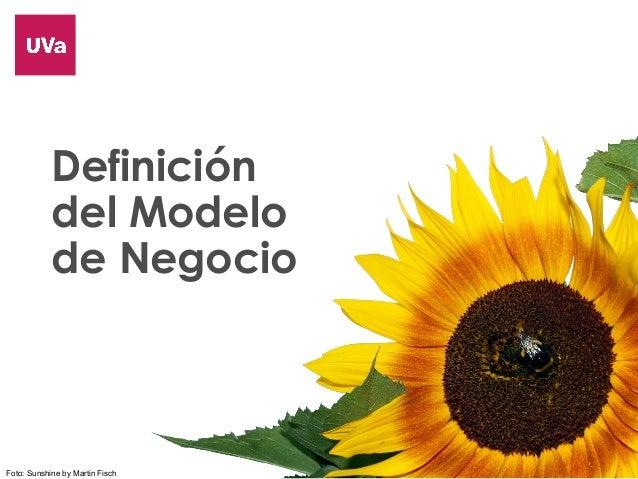 Definición de Modelos de Negocio Ed 2014