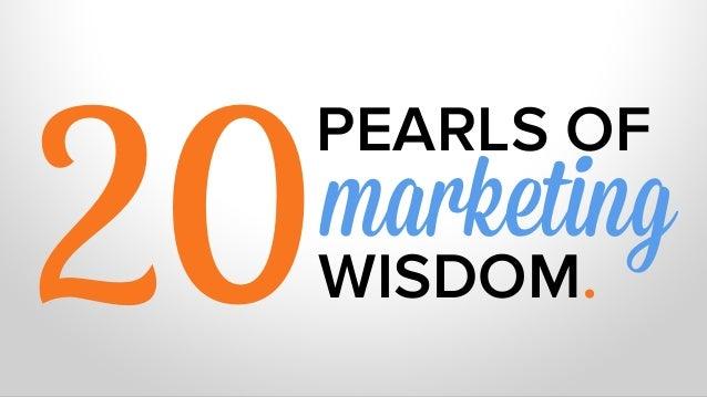 20PEARLS OFWISDOM.!marketing