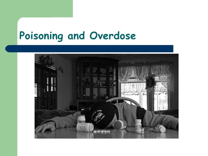 20)Poisoning And Overdose