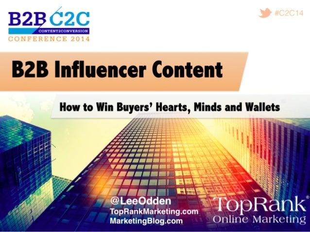#C2C14! @leeodden! @LeeOdden  –  Consultant,  Author,  Traveler   Content   Social   Influencers   Search ...