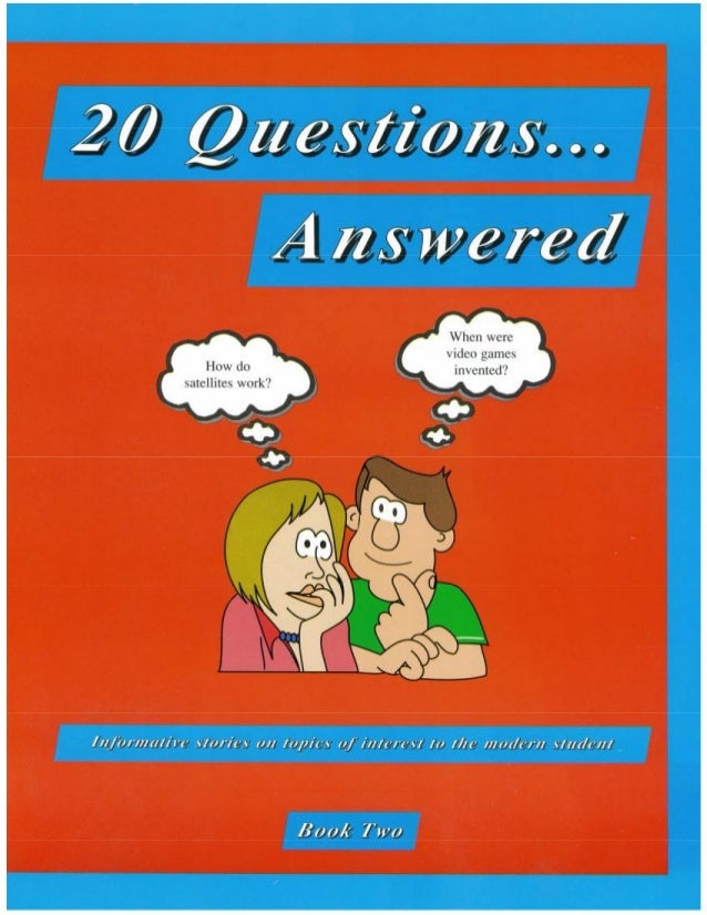 20 questions... answered book 2