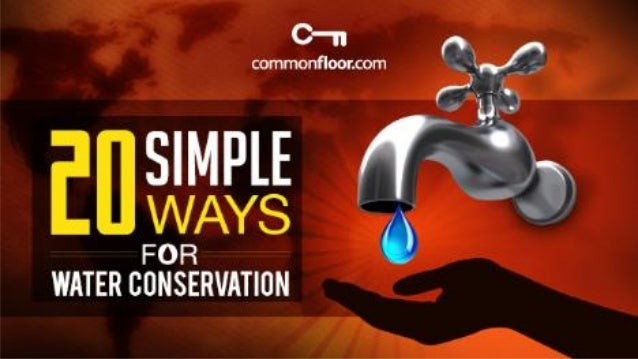 20 Simple DIY Ways For Water Conservation in Your Home
