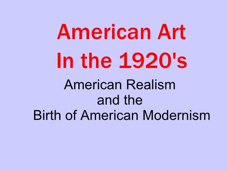 20s Realism