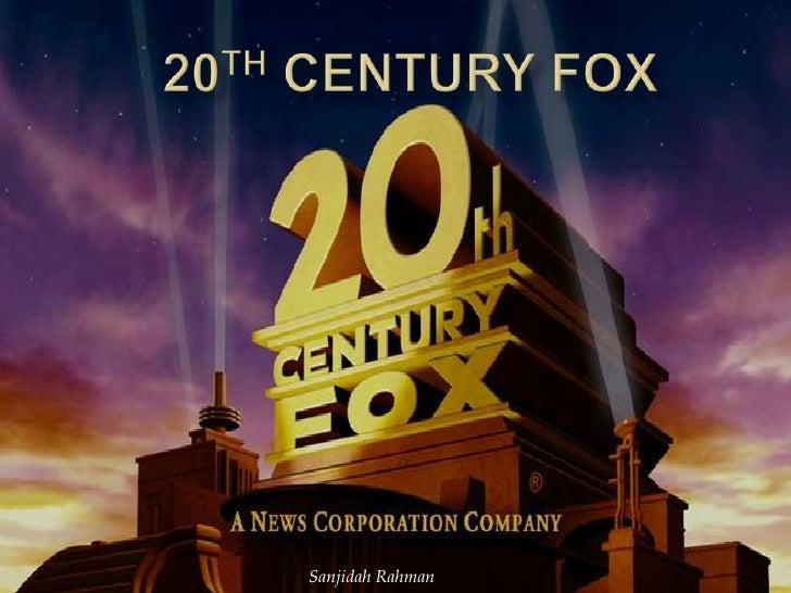 20th century fox cc sanjidah