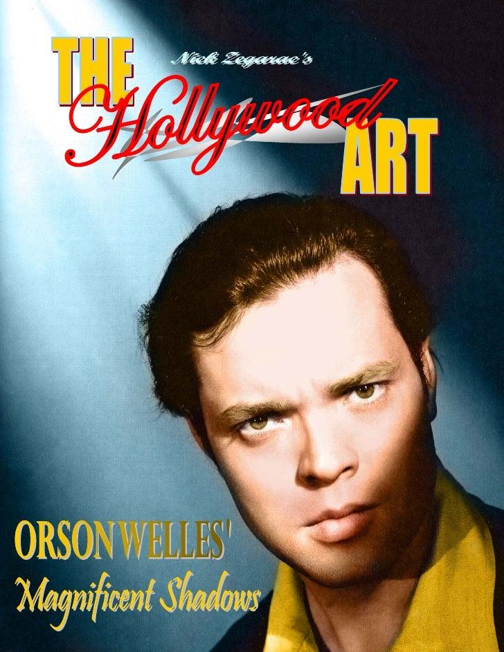 20) The Hollywood Art   Orson Welles