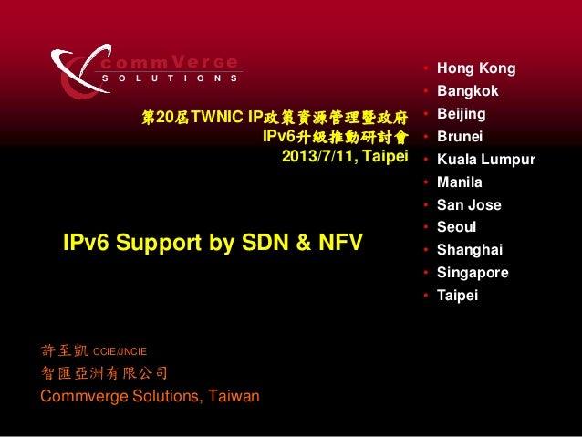 S O L U T I O N S c o m m Ve r eG • Hong Kong • Bangkok • Beijing • Brunei • Kuala Lumpur • Manila • San Jose • Seoul • Sh...