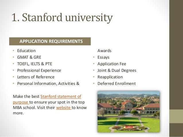 Stanford mba essays - Academic Writing Help Worth