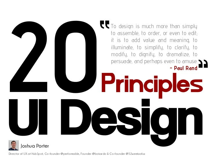 """       To design is much more than simply                                                                      to assembl..."