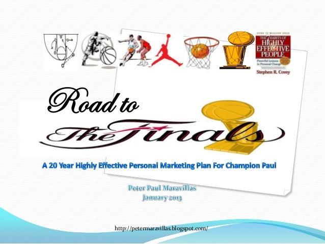20 year marketing plan