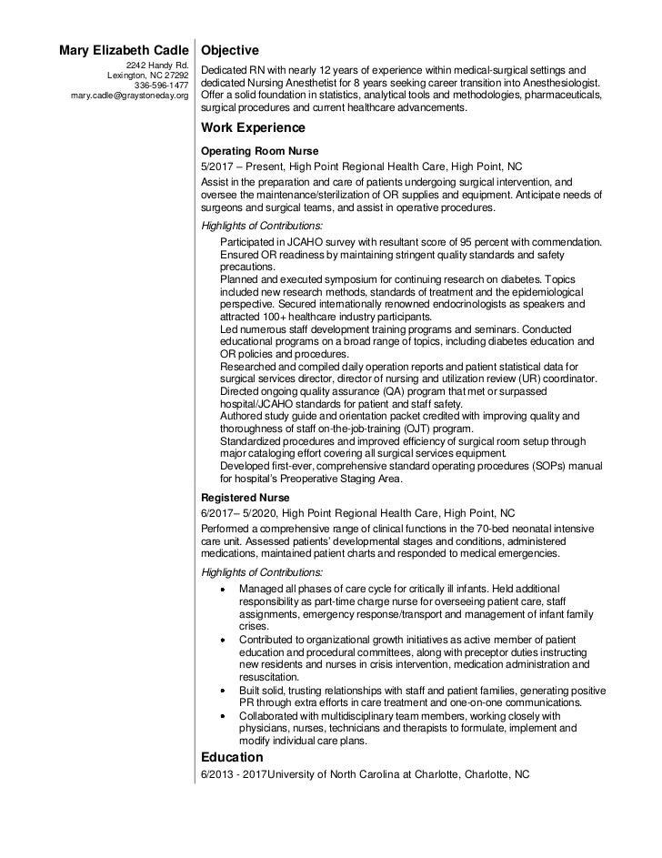 head nurse resume - Akba.greenw.co