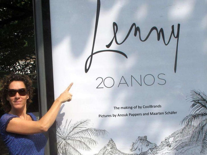 20 years Lenny - 'the making-of' of a catwalk - Lenny 20 Anos