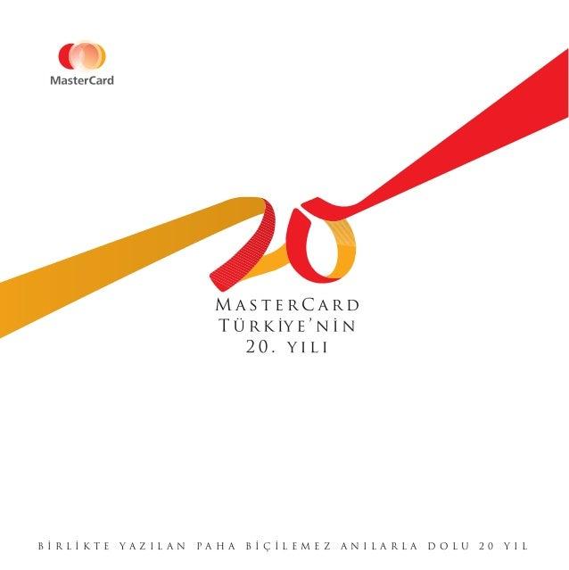 Mastercard Türkiye'nin 20. Yılı