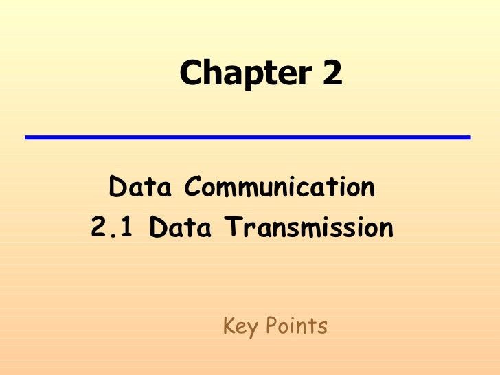 2[1].1 data transmission