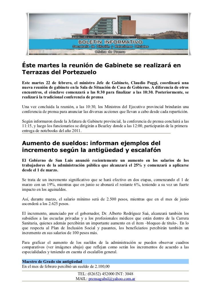 Éste martes la reunión de Gabinete se realizará enTerrazas del PortezueloEste martes 22 de febrero, el ministro Jefe de Ga...