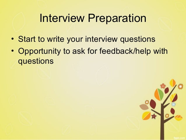 21 Interview Preparation