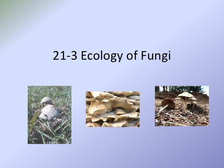 21-3 Ecology of Fungi<br />