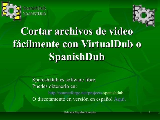 virtualdub mov: