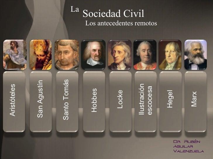 La sociedad civil - antecedentes remotos